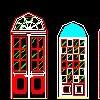 欧式门窗及栏杆cad图纸大全dwg格式免费下载