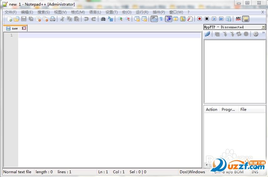 Notepad FTP插件下载(NppFTP)截图0
