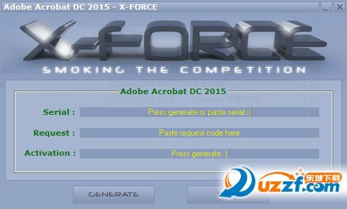 Adobe Acrobat DC2016注册机截图0