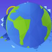 世界地球日一�I�IQ�跑�件