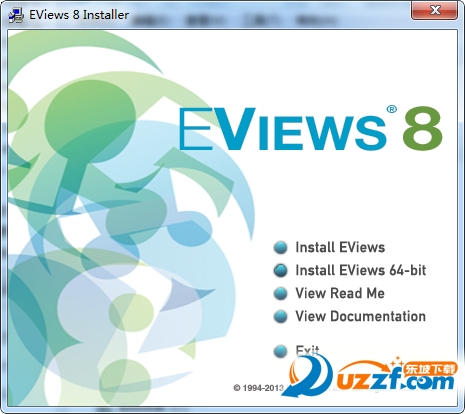 Eviews8.0截图0