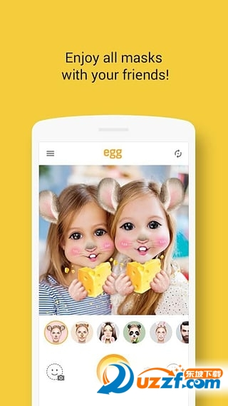egg 动态自拍摄影截图