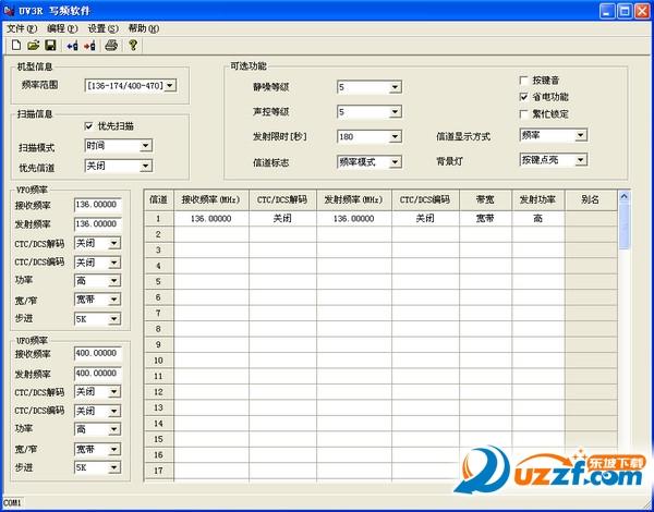 宝峰UV-3R对讲机写频App截图0
