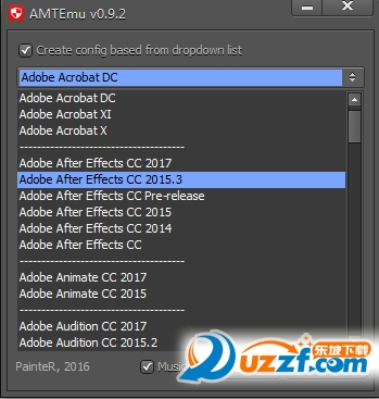 Adobe CC 2017全套软件破解注册机截图2