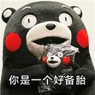 熊本熊你只是一个备胎表情包完整无水印版