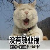 动物搞笑五福表情包