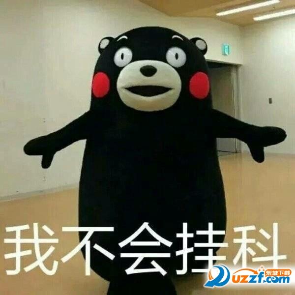 熊本熊考试不挂科表情下载|熊本熊考试不挂表情我就是禽兽包图片