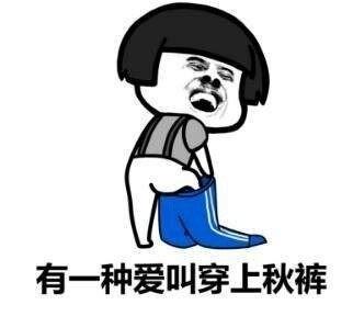 秋衣秋裤图片搞笑表情包图片2017最新版图片