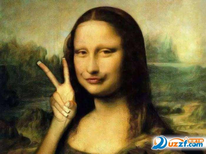 蒙娜丽莎的假笑表情表情图片简笔图片包大全五官