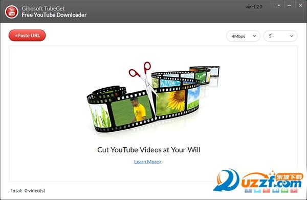 Gihosoft TubeGet(YouTube视频下载软件)截图0