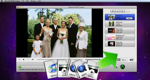 iSkysoft DVD Creator软件截图1