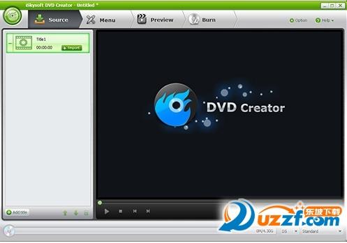 iSkysoft DVD Creator软件截图0