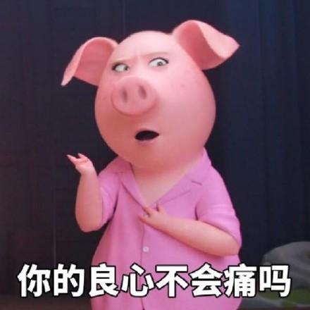 精致的猪猪女孩表情包大全