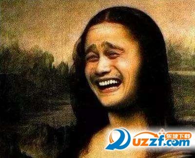 蒙娜丽莎的假笑图片表情一大波足球搞笑动图