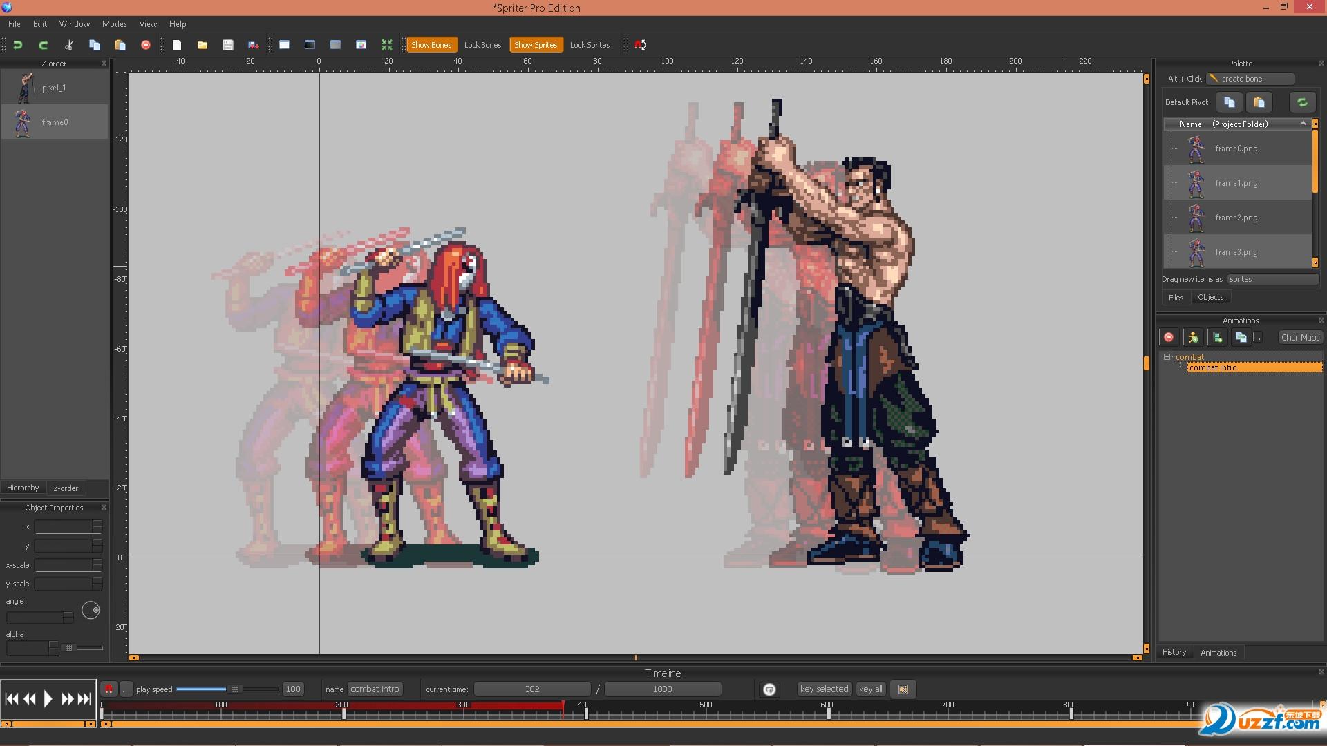 Spriter动画制作软件(动画编辑器)截图1