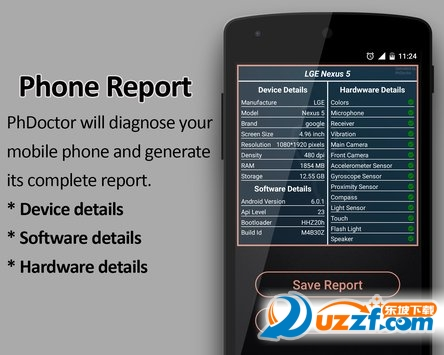 PhDoctor完整的手机检查器app截图