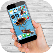 蟑螂在屏幕上爬app1.0 恶搞版