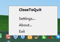 关闭特定程序软件(CloseToQuit)截图1