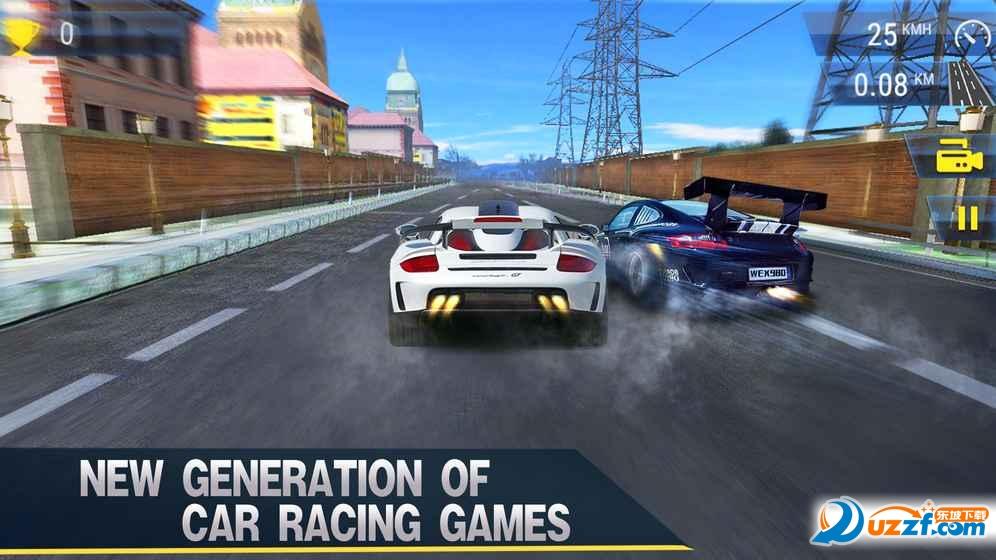 现代经典赛车真正的涡轮赛车手游截图