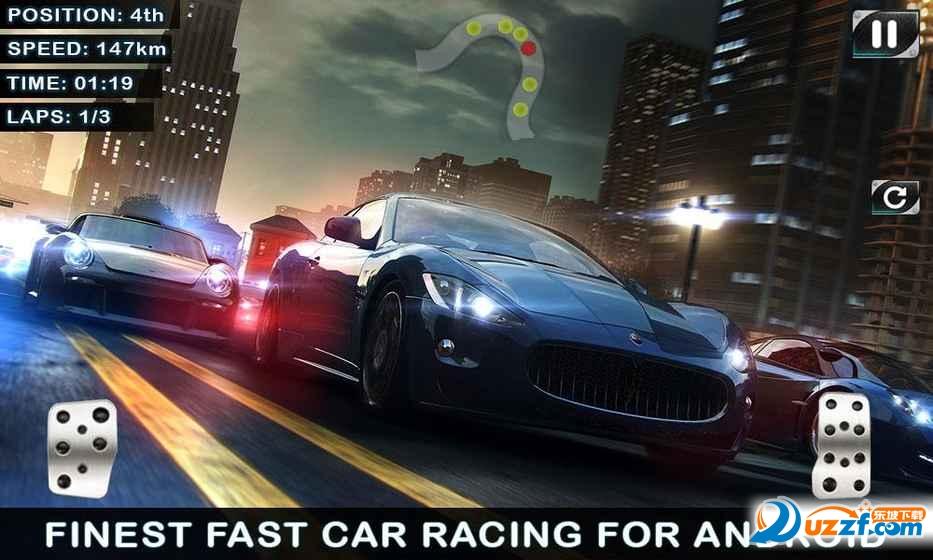 快速赛车Fast Car Racing游戏截图