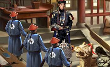 清朝��官的游��