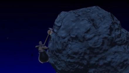GettingOverIt快速通关和班尼特福迪一起游戏网三垃圾剑表情包图片