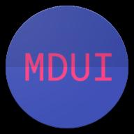 MDUI开发文档app