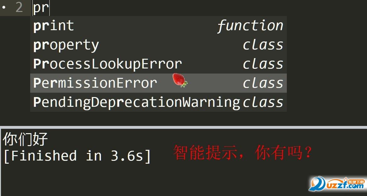 Sublime Text Build 3143 x64整合python插件版截图0