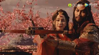 项羽虞姬MV的视觉上采用了哪种舞美形式