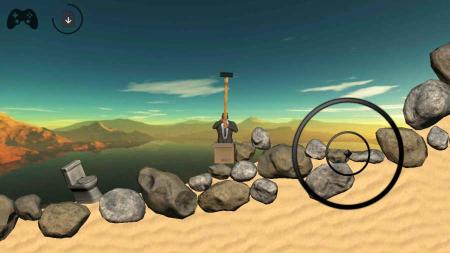 抡锤子爬山游戏的手机版