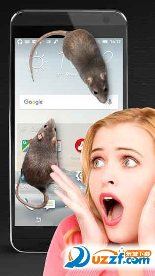 Mouse on Screen Scary Joke(手机养老鼠)截图