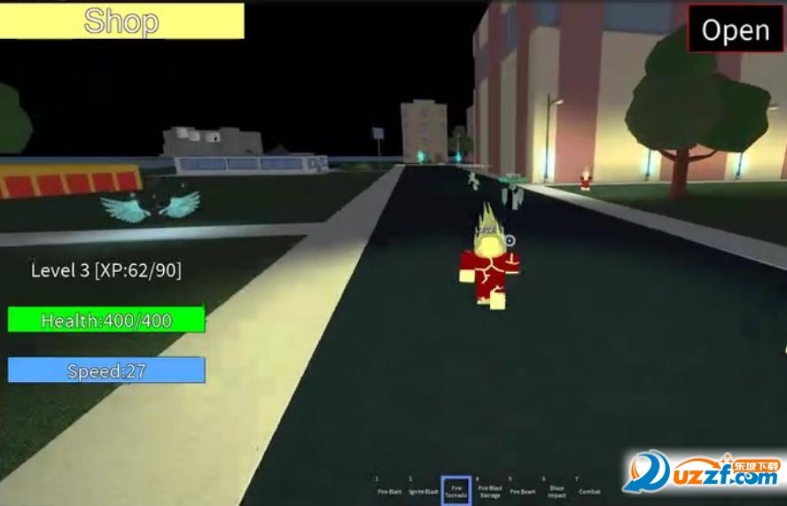 roblox外星英雄模拟器游戏截图