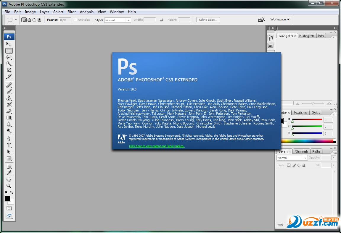 Photoshop CS3(Photoshop 10.0.1_ps cs3)截图0