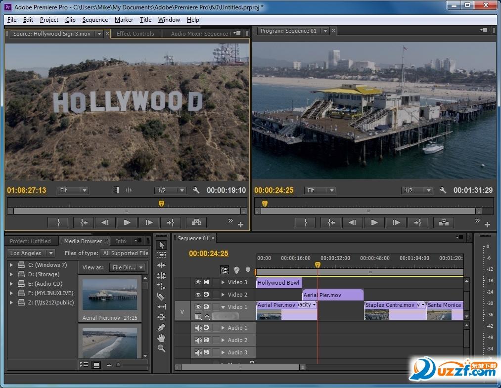 Adobe Premiere CS6(64位)截图1