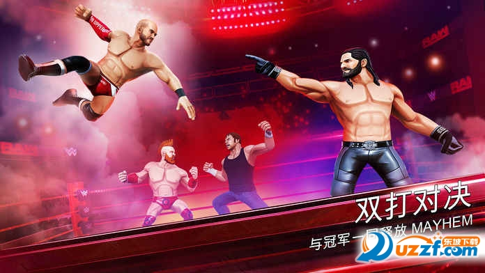 WWE混乱手游截图