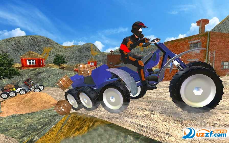四人ATV车手游戏截图