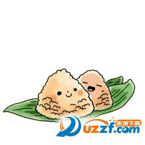 端午节微信祝福动态图片部分预览 吃粽子罗 粽子节快乐 1,粽子香香