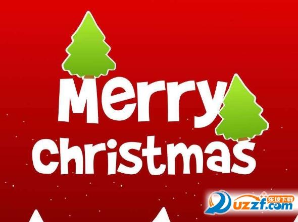 教育素材 素材下载 → 圣诞快乐英文艺术图片 精选无水印版
