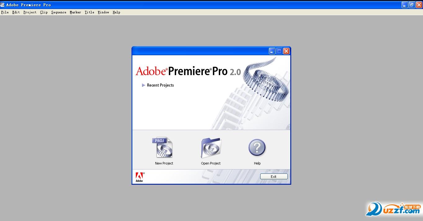 Adobe Premiere Pro 2.0官方最新版截图0