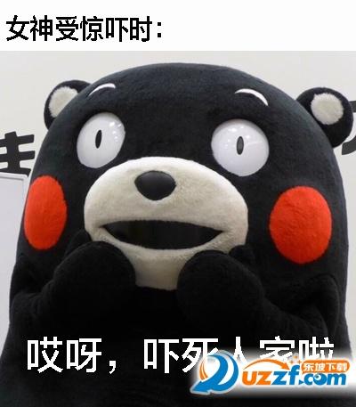 熊本熊汉子和女大全区别表情图片开心字表情v汉子女神包带图片