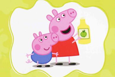 小猪佩奇介绍 小猪佩奇是一只非常可爱的小粉红猪,她与弟弟乔治,爸爸