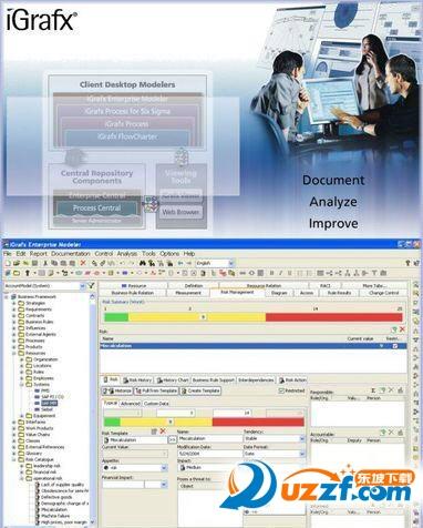 Corel iGrafx 2016 Build 商业流程分析和改善工具截图0
