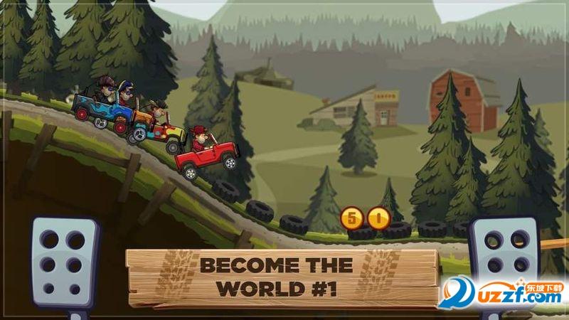 登山赛车2无限道具版截图