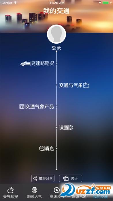 江苏交通气象ios版截图