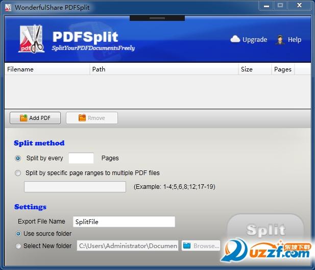 PDF切割器截图1