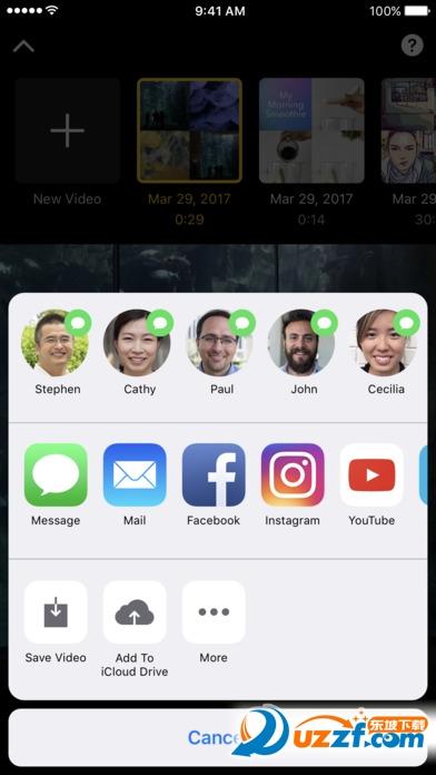 Clips苹果中文版截图