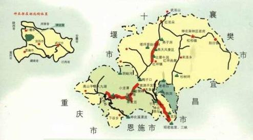 湖北交通地图全图高清版