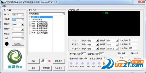 ACS510调试助手(ABB变频器调试软件)截图0