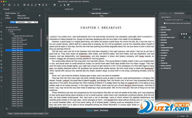 BlueGriffon(Html网页编辑器)截图0