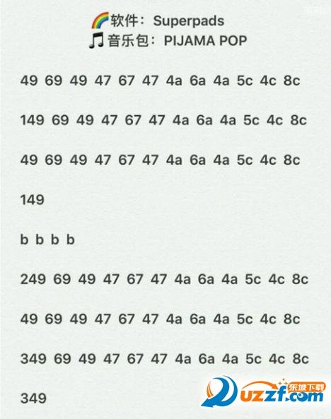 superpads boom曲谱教程下载|superpads